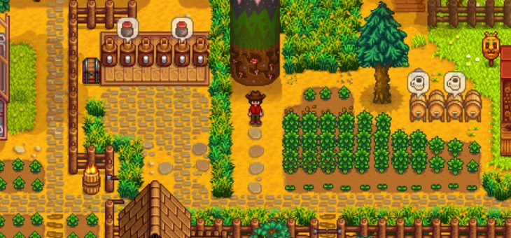 Experience the whole new features from Stardew Valley game