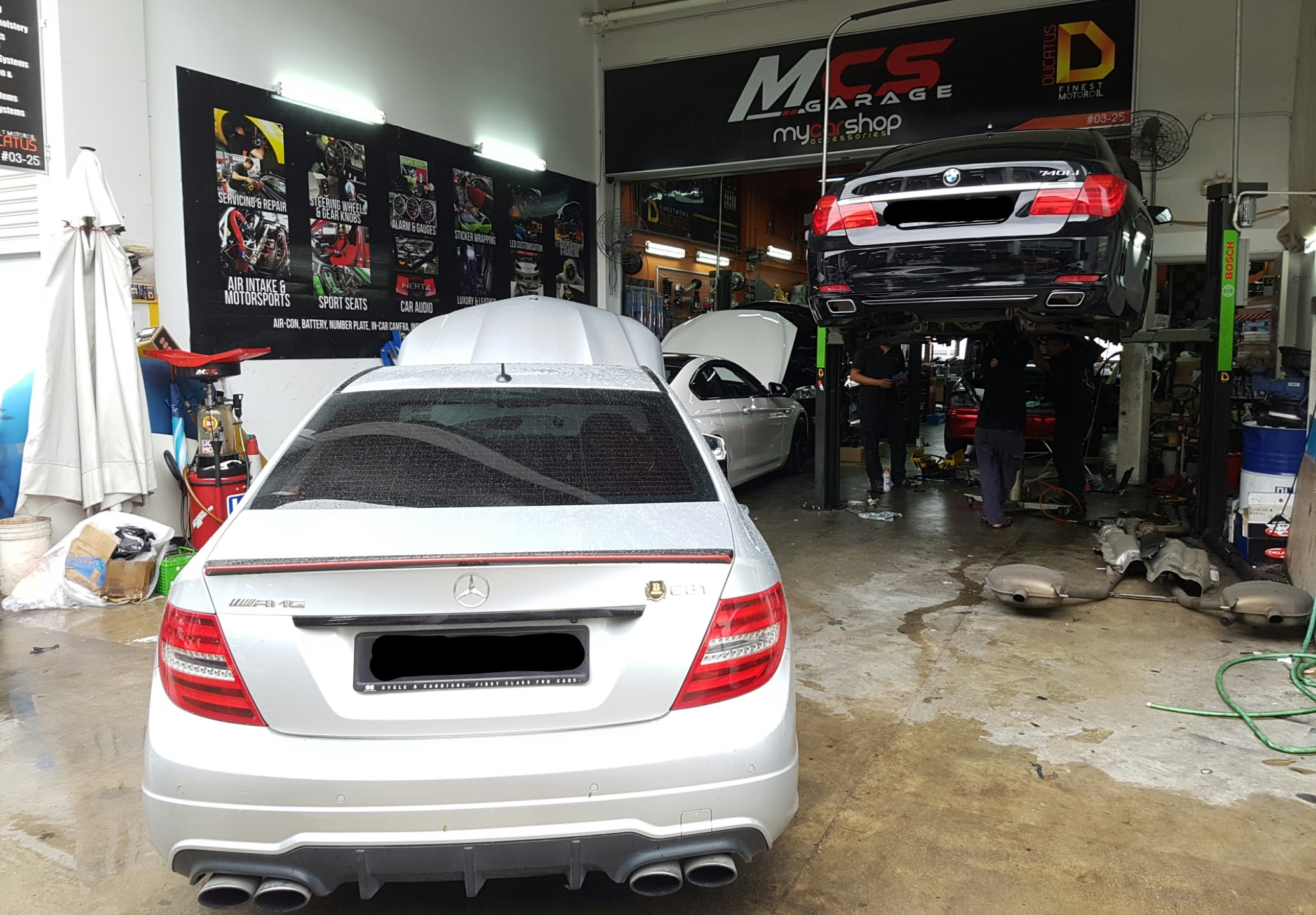 24hr car workshop singapore