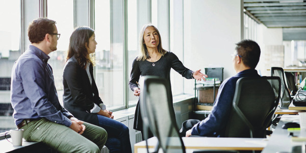 Posture of the employer is observed during the interview process