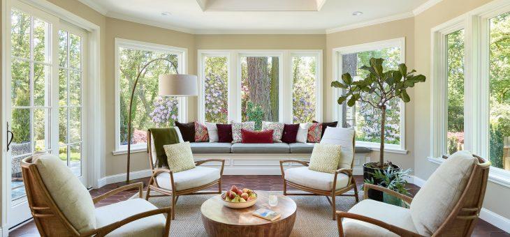 Flooring: wood, tiles or plaster for sunrooms